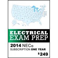 Snapz Electrical Exam Prep - 2014 NEC® -- One Year Subscription