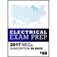 Snapz Electrical Exam Prep - 2017 NEC® - 99 Day subscription