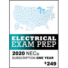 Snapz Electrical Exam Prep - 2020 NEC® - One Year subscription