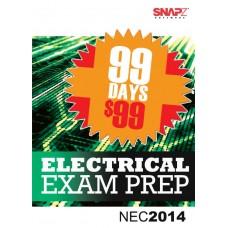 Snapz Electrical Exam Prep - 2014 NEC® -- 99 day subscription