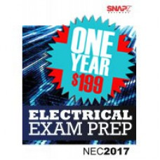 Snapz Electrical Exam Prep - 2017 NEC® - One Year subscription