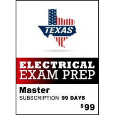 Texas Master Electrician Exam Prep  - 2017 NEC® - 99 day subscription